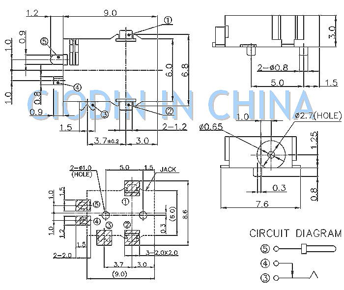 dc-power-sockets 电源连接器